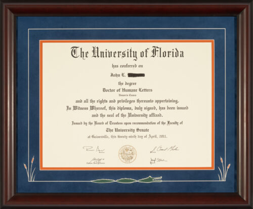 University of Alabama Diploma Frame - Talking Walls